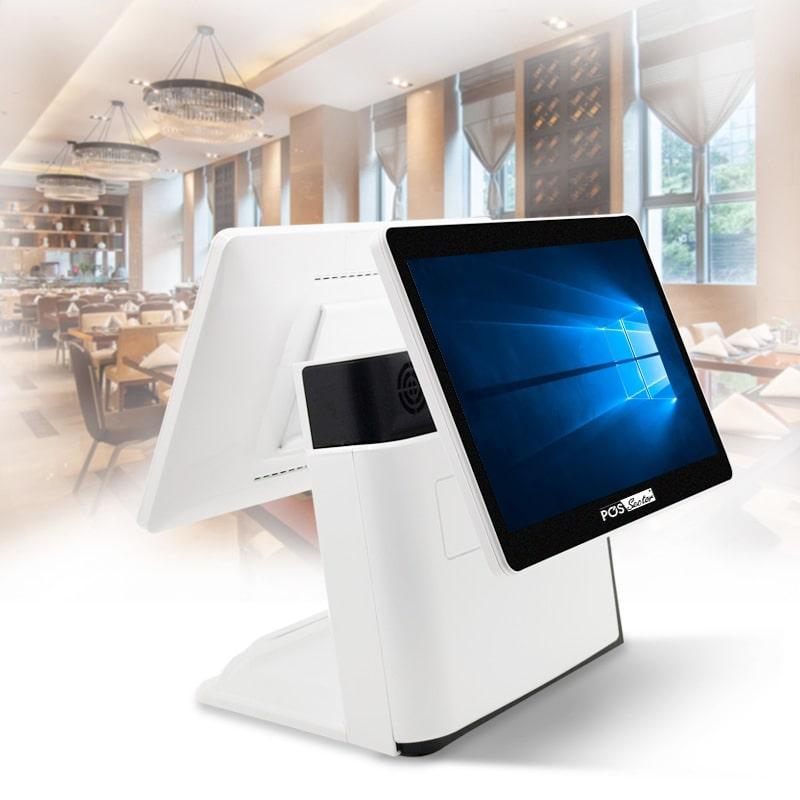 12,5″ Windows POS-моноблок c двумя экранами